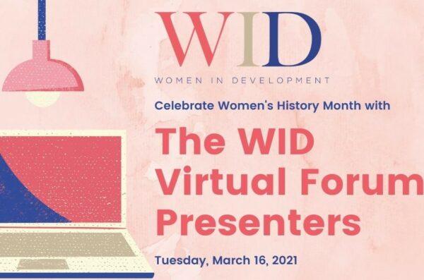 WID Forum #3 - Presenters